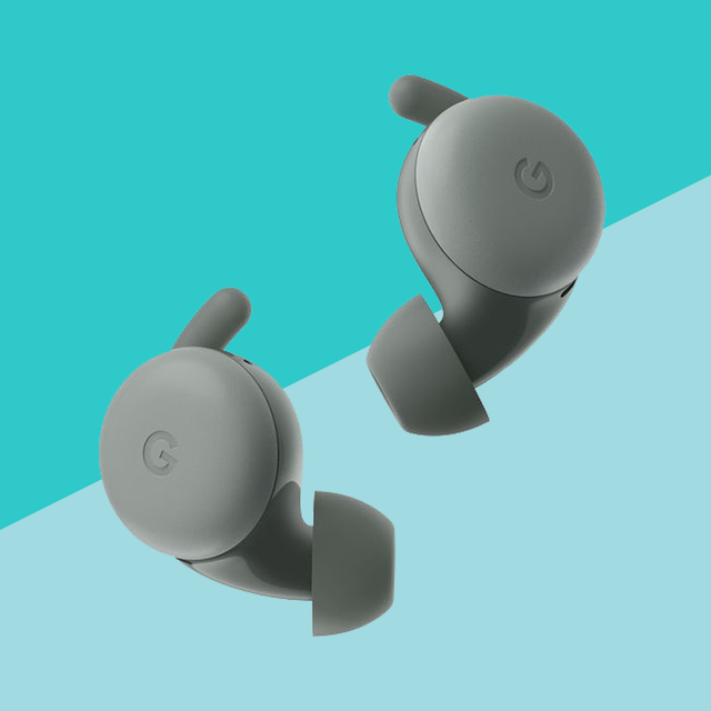 google pixel buds a series on blue background