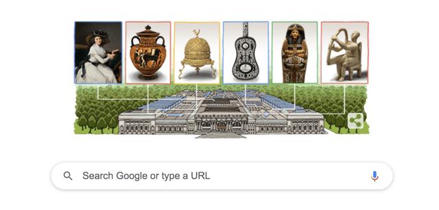 google animated doodle