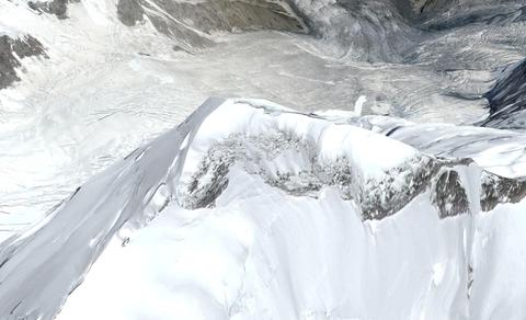 White, Geological phenomenon, Glacial landform, Ice, Freezing, Snow, Mountain, Winter, Glacier, Massif,