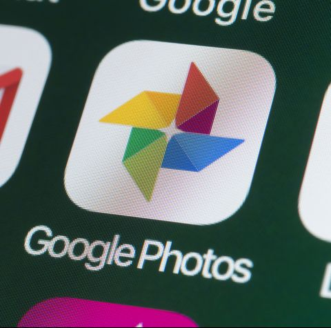 Google Photos, Google Drive, Gmail and other Apps on iPhone screen