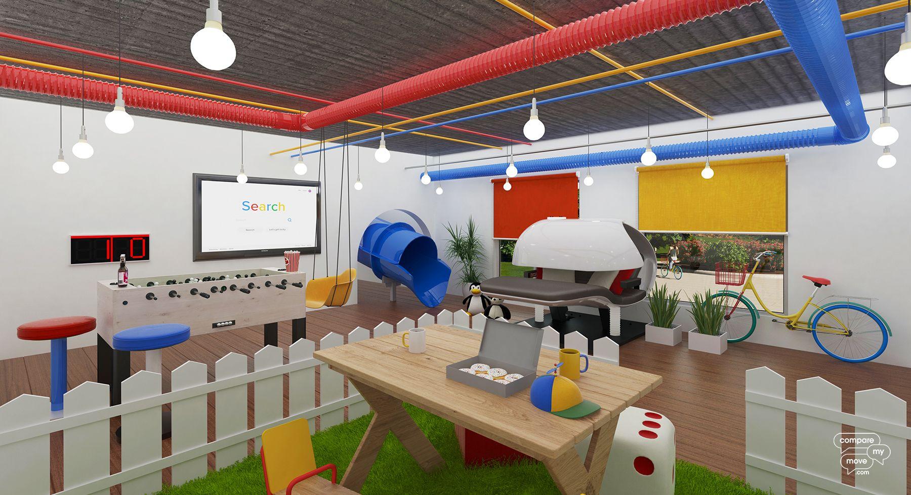 Google bedroom design