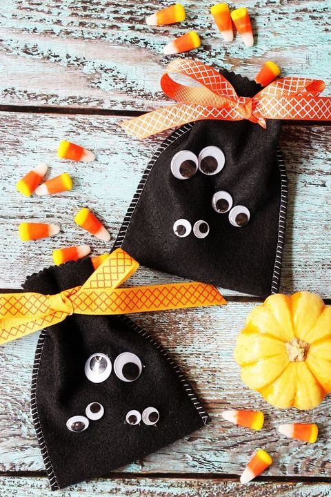 treat bag halloween crafts kids