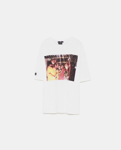 White, T-shirt, Clothing, Pink, Text, Sleeve, Top, Design, Outerwear, Font,