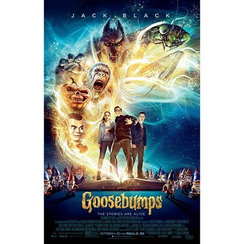 scary movies for kids - goosebumps