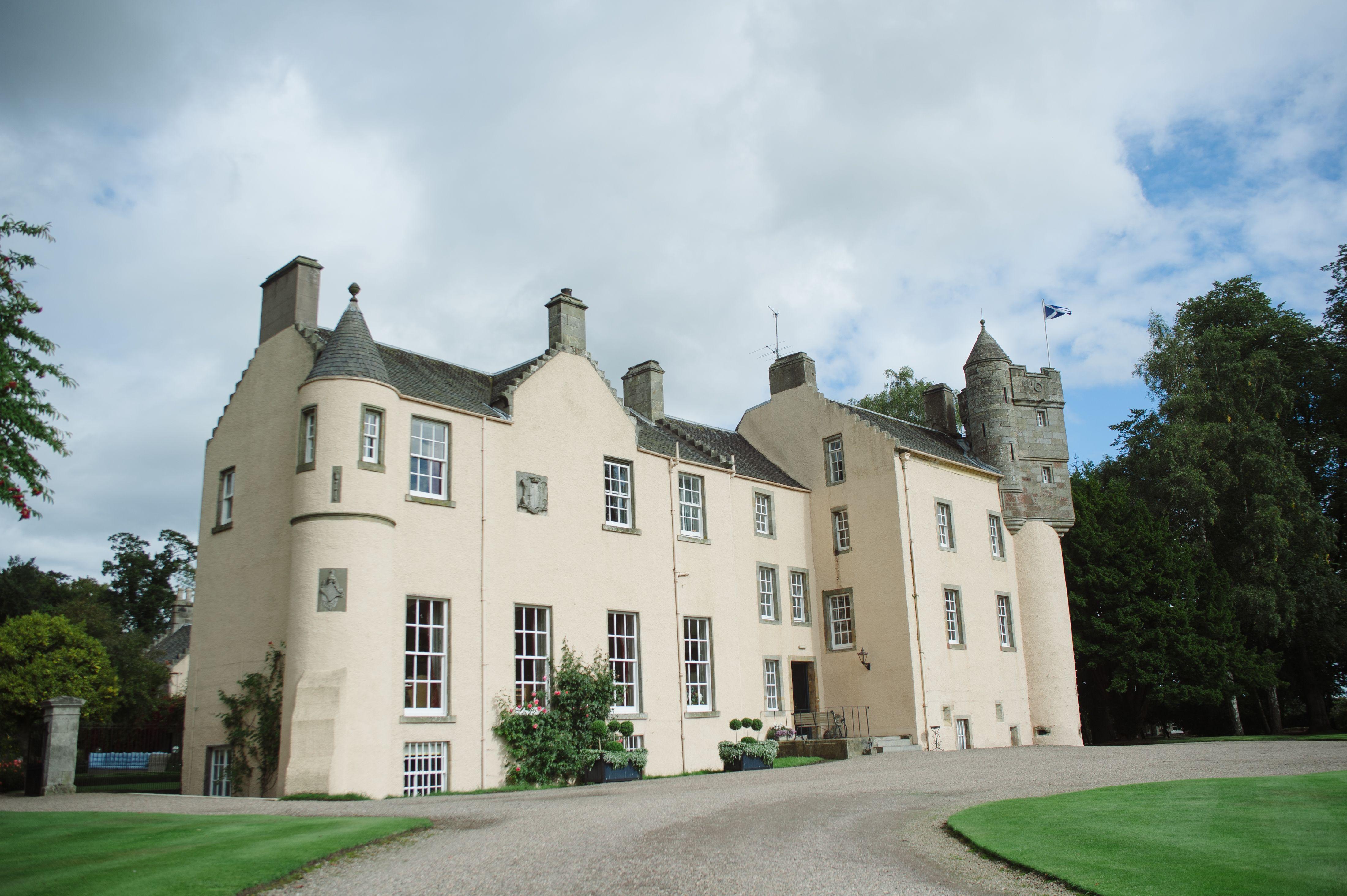 Myres Castle Has Just Been Named The Uks Best Historic Wedding Venue