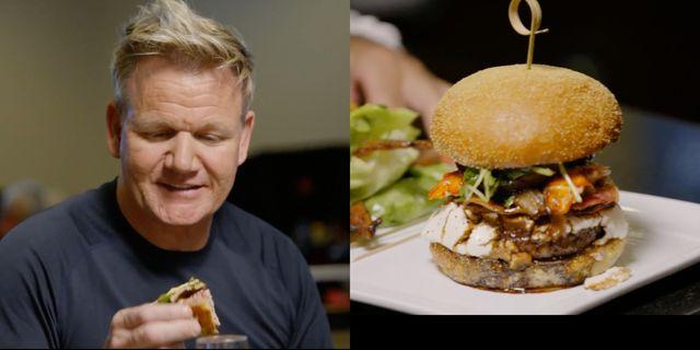gordon ramsay tried a 777 burger
