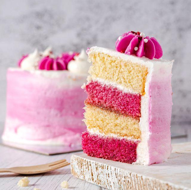 gordon's pink gin cake
