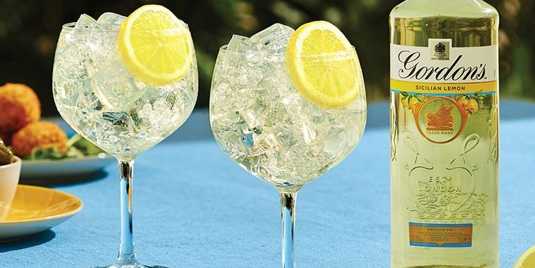 Gordon's Has Launched A Sicilian Lemon Gin And It's Perfect For Summer