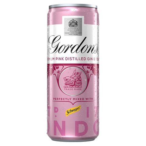 Gordon S Pink Gin Is Now Available In A Tin