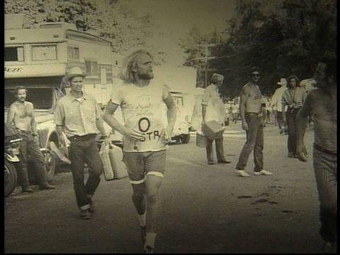 Gordy Ainsleigh in Michigan in 1974.