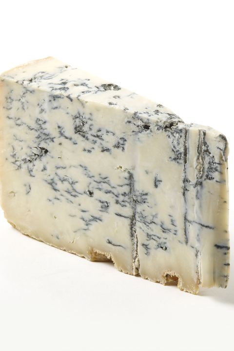 Gorgonzola, Blue cheese, Rock, Cheese, Dairy, Beige, Rectangle, Mineral,