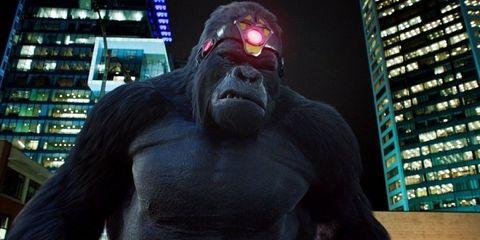 gorilla grodd king shark the flash