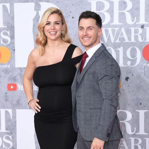 Gemma Atkinson Gorka Márquez Brit Awards