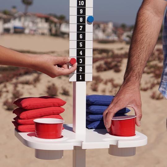 gosports scorecaddy score keeper drink stand set