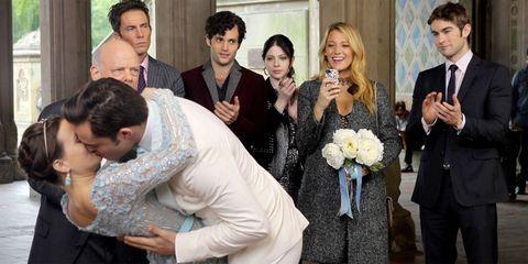 Gossip Girl Blair Chuck wedding
