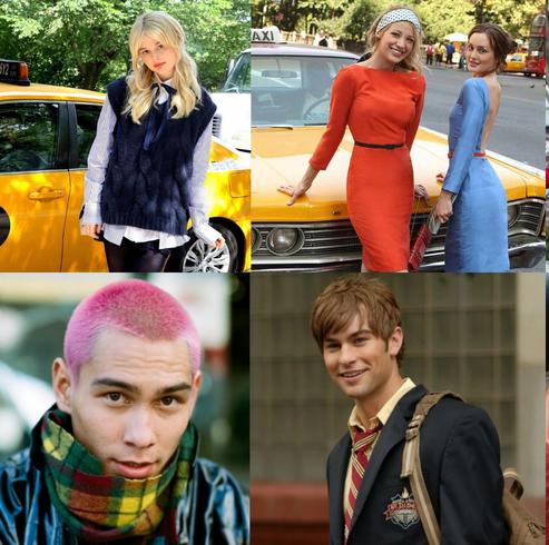 gossip girl reboot casts comparison