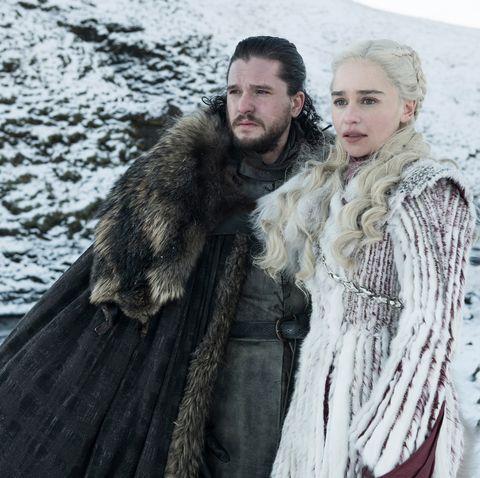 Jon Snow Daenerys Targaryen Game Of Thrones Relationship Timeline
