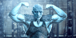 game of thrones characters at gym