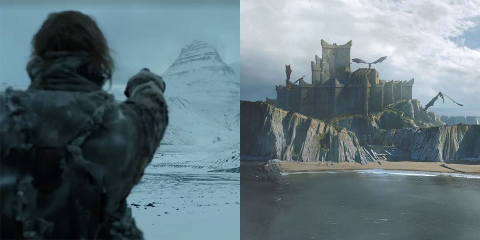 What 20 Iconic 'Game of Thrones' Filming Locations Look Like in Real Life