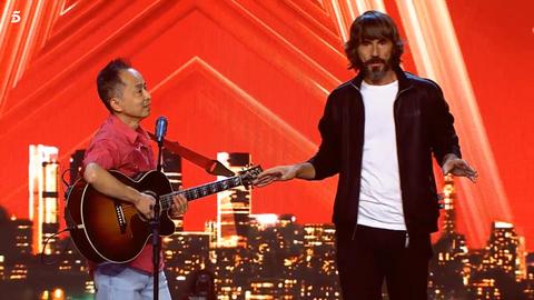 Santi Millan se pone serie en 'Got Talent'