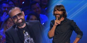 Got Talent. Santi Millán y Risto Mejide