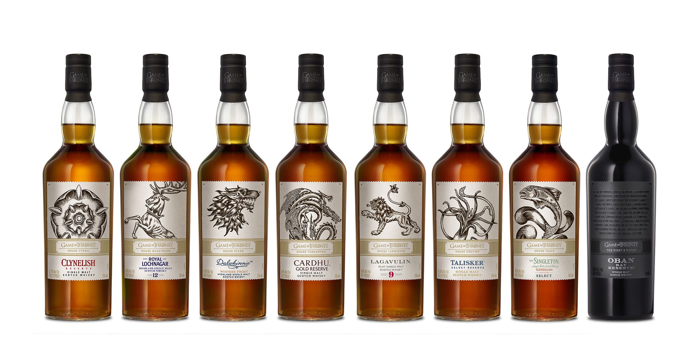 'Game of Thrones'Just Released 8 Scotch Whiskies, and There Goes Our Winter
