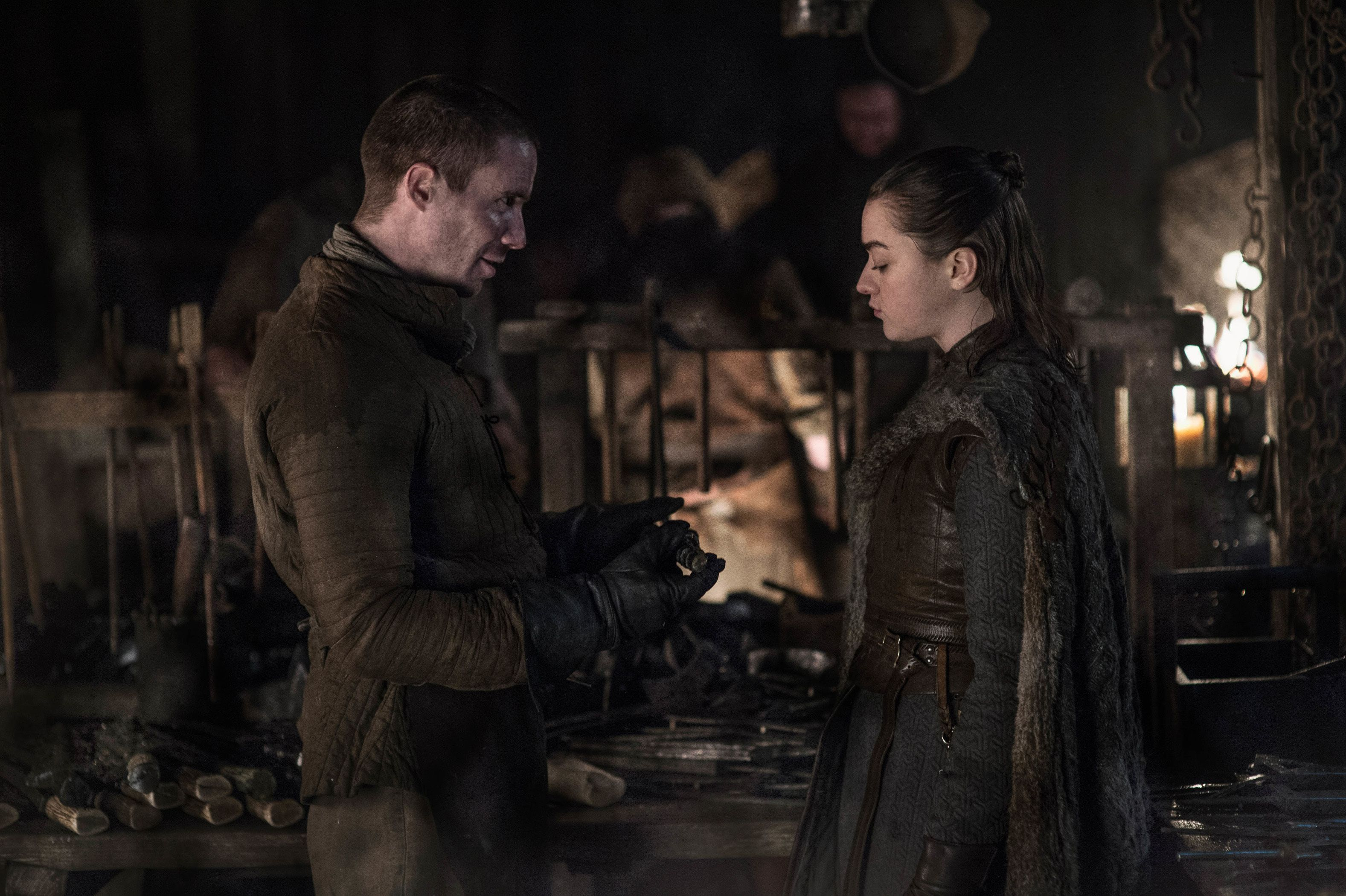 Fans have been asking Dempsie for years whether or not Gendry and Arya would get together.