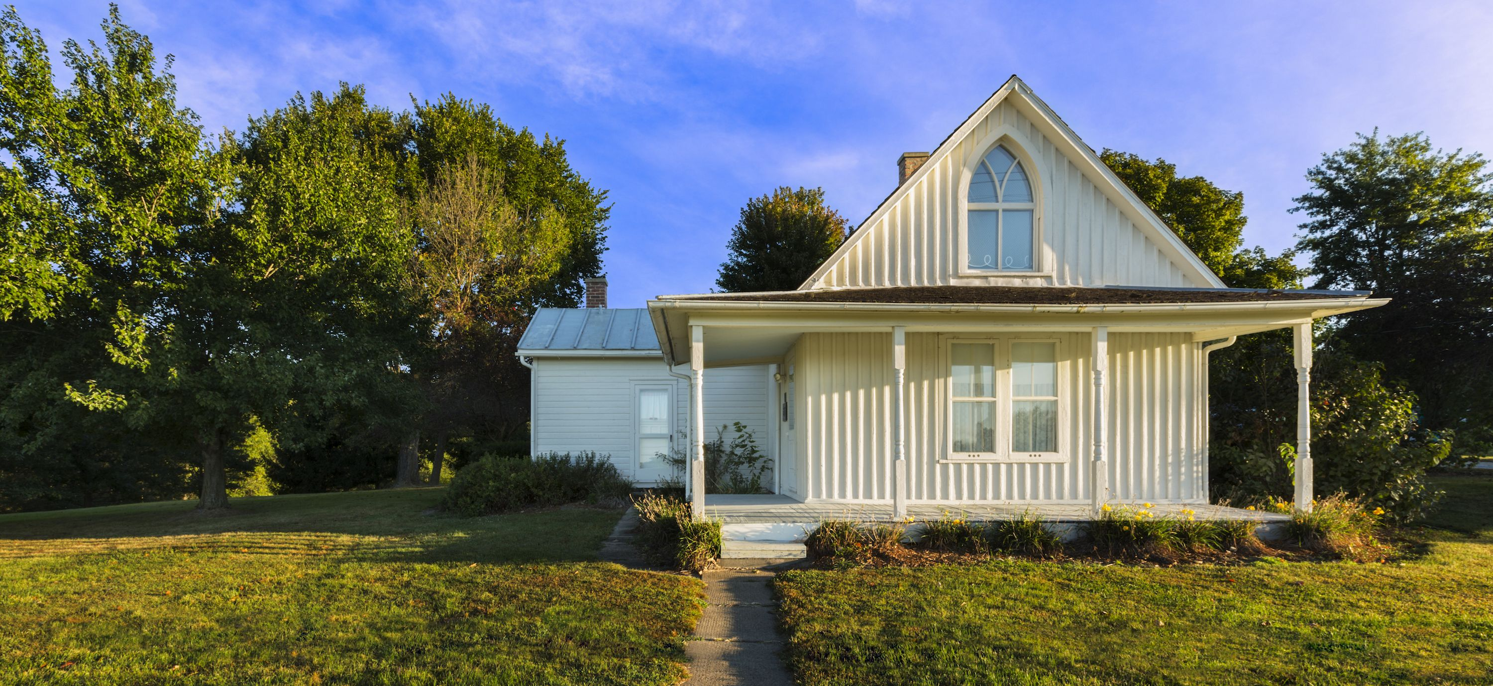 Gothic Revival Style House From American Gothic