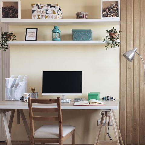 zona de estudio en casa