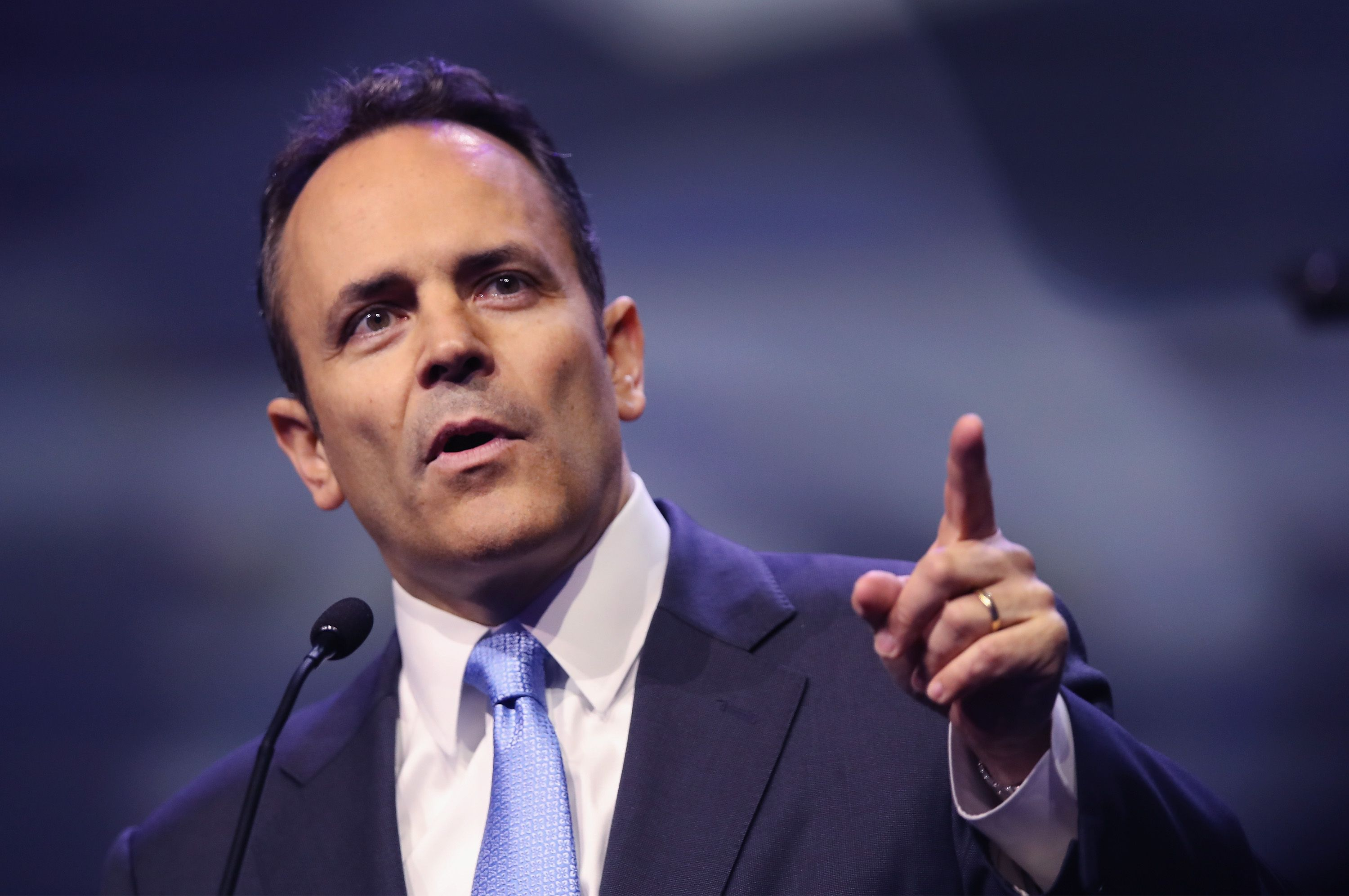 Former Kentucky Governor Matt Bevin Defended His Controversial Pardons on Twitter