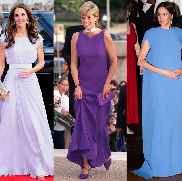 Clothing, Dress, Fashion, Purple, Event, Gown, Formal wear, Haute couture, Electric blue, Fashion design,