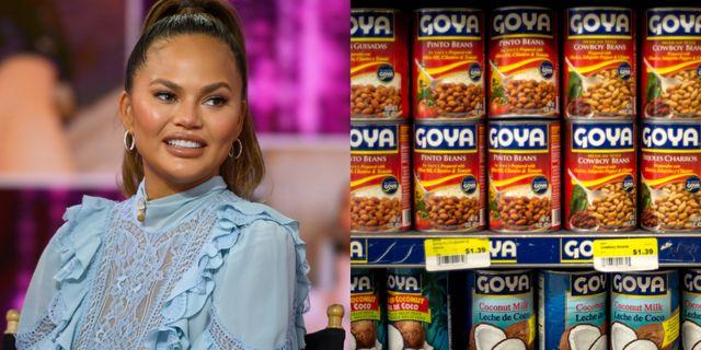 chrissy teigen goy foods boycott