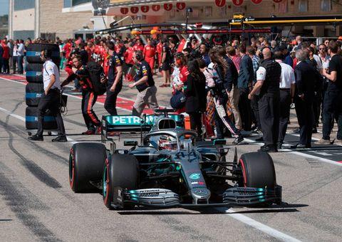 Gran Premio de Estados Unidos de F1 - Carrera