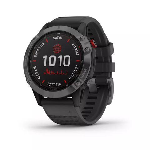 gps smartwatch fenix 6 solar gray