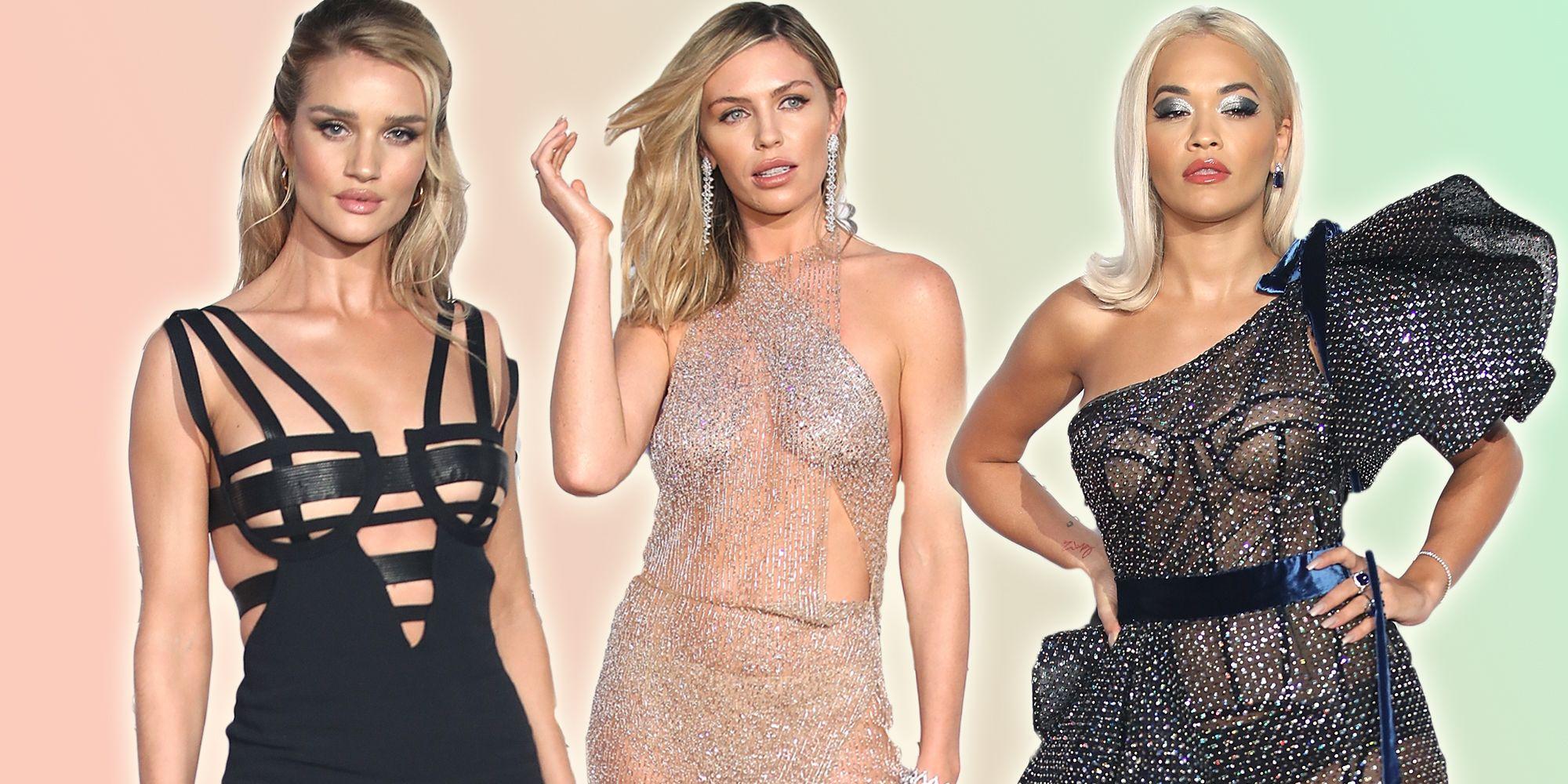 gq awards naked celebrity dresses