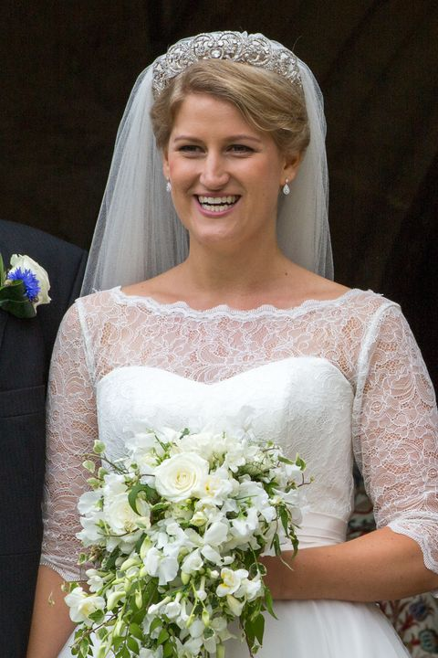 Princess Diana S Wedding Tiara Was Worn By Her Niece For Her Own