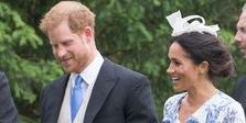 Meghan Markle attends wedding with Prince Harry