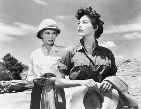 Grace Kelly and Ava Gardner