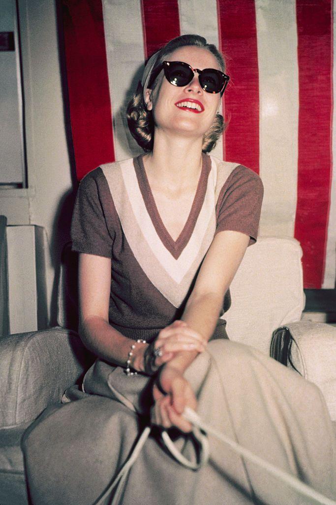 Grace Kelly off-duty