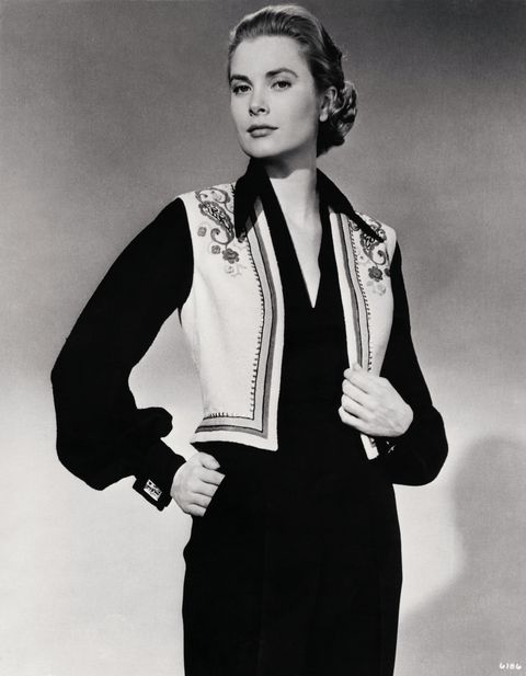 grace kelly modeling