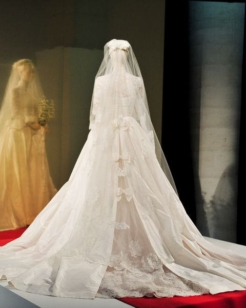 Princess Grace Wedding Dress.Charlotte Casiraghi Wedding To Dimitri Rassam Wearing Short Saint