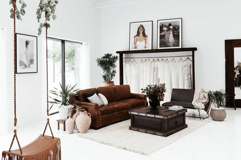 white space with dark accents