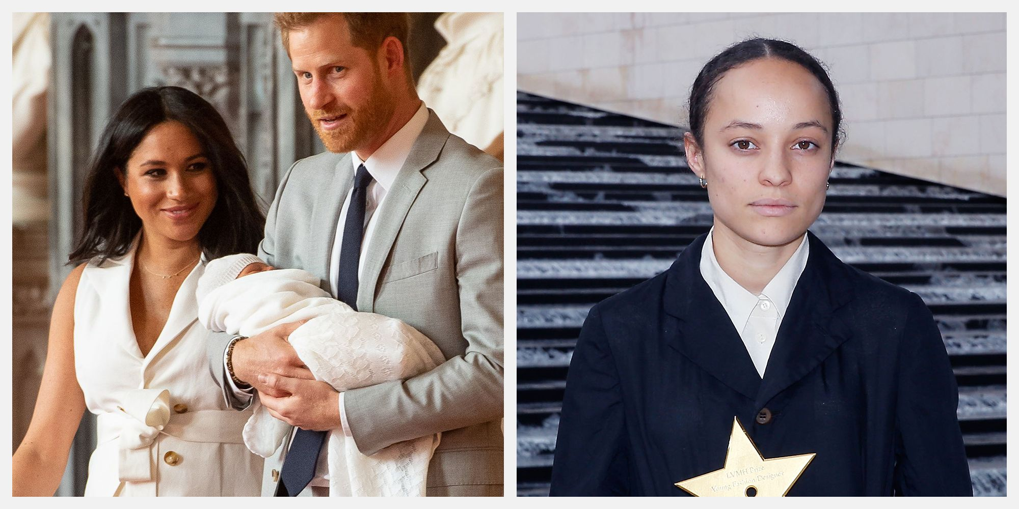 grace wales bonner meghan markle baby dress designer