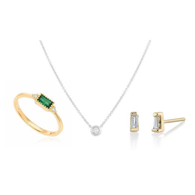Jewellery, Fashion accessory, Necklace, Body jewelry, Pendant, Chain, Gemstone, Locket, Emerald,