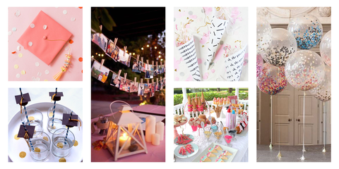 drive by graduation party ideas