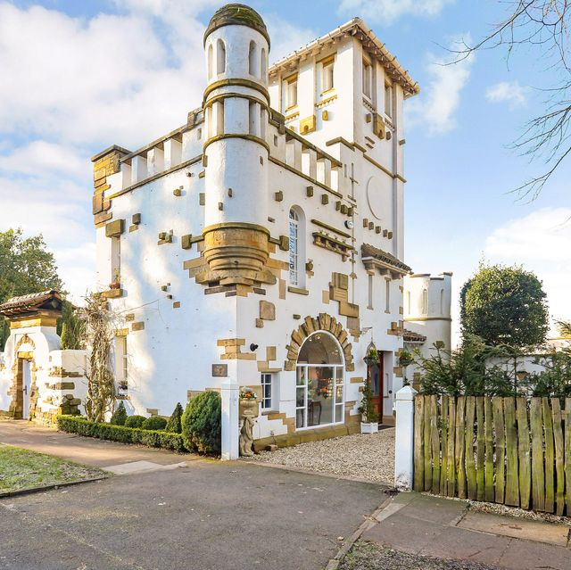 a unique opportunity to purchase a grade ii listed 'mini castle' has just arisen in knutsford, cheshire