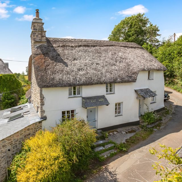grade ii listed thatched cottage is for sale in devon