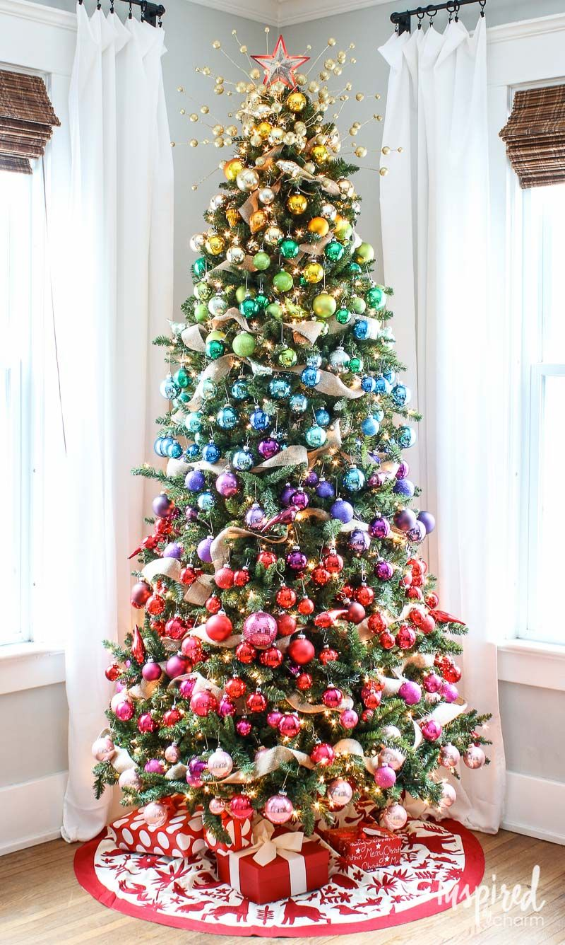 50 christmas tree decoration ideas pictures of beautiful christmas rh housebeautiful com christmas tree decoration kaufen christmas tree decoration flowers