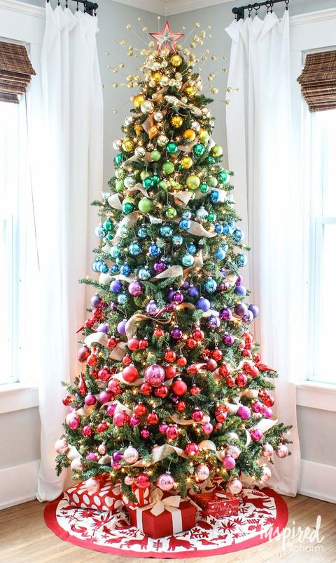 50 Christmas Tree Decoration Ideas - Pictures of Beautiful Christmas ...