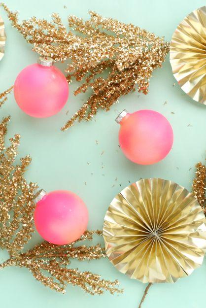gradient ornaments